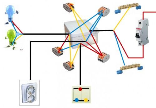Видео соединения проводов
