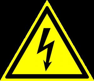 Осторожно! Электрическое напряжение
