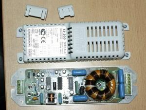 электронный трансформатор в разборе